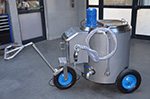 Mobile mixing unit 100 litres - Metal Process Sp. z o.o.